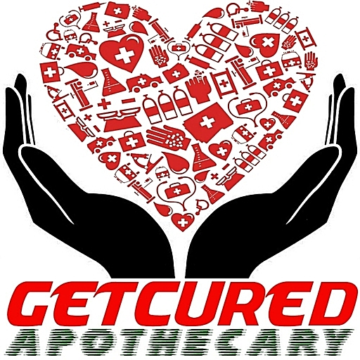 GETCURED APOTHECARY'S BRAND LOGO