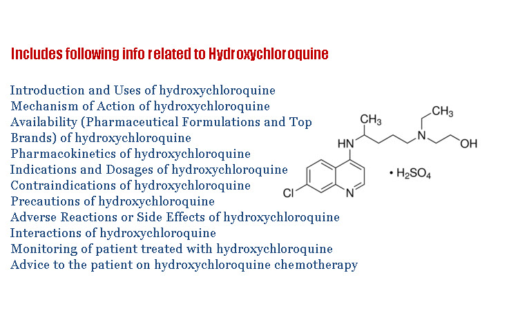 Hydroxychloroquine Sulfate Complete Details